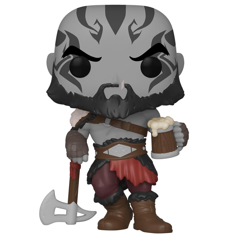 Funko - PRE-ORDER: Funko POP Games: Vox Machina - Grog Strongjaw With PPJoe Fantasy Sleeve