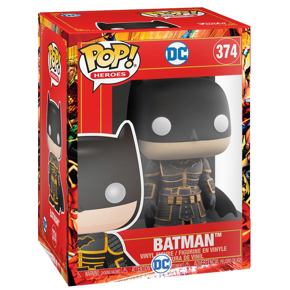 Funko - PRE-ORDER: Funko POP Heroes: Imperial Palace - Batman With DC Sleeve