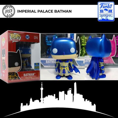 Funko - PRE-ORDER: Funko POP Heroes: Imperial Palace - Blue Batman Metallic [Limited Edition]