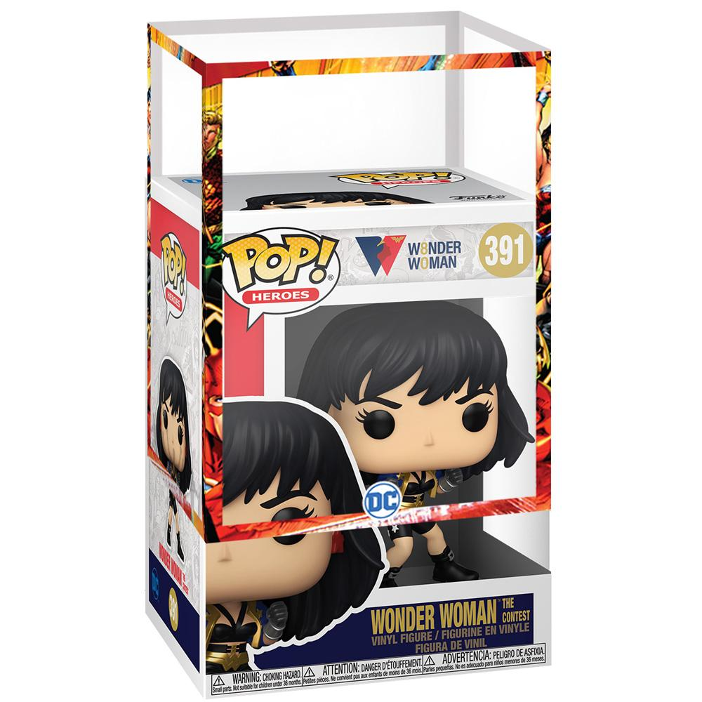 Funko - PRE-ORDER: Funko POP Heroes: WW80th - Wonder Woman (The Contest) With Free DC Sleeve