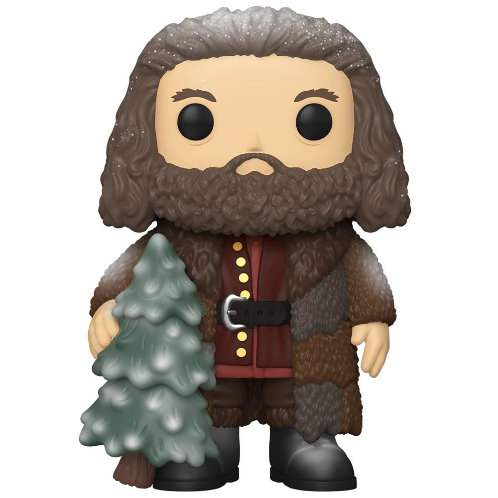 "Funko - PRE-ORDER: Funko POP HP: Holiday- 6"" Hagrid With PPJoe Protector"