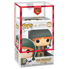 Funko - PRE-ORDER: Funko POP HP: Holiday- Ron Weasley With Gryffindor Sleeve