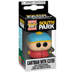 Funko - PRE-ORDER: Funko POP Keychain: South Park - Cartman With Clyde