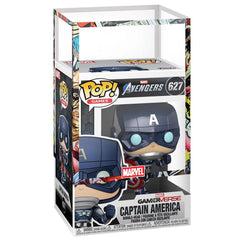 Funko - PRE-ORDER: Funko POP Marvel: Avengers Game - Captain America With PPJoe Marvel Sleeve