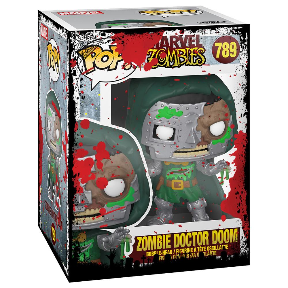 Funko - PRE-ORDER: Funko POP Marvel: Marvel Zombies - Dr. Doom With Halloween Sleeve