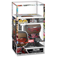 Funko - PRE-ORDER: Funko POP Marvel: TFAWS - Falcon (Flying Pose) With Marvel Sleeve