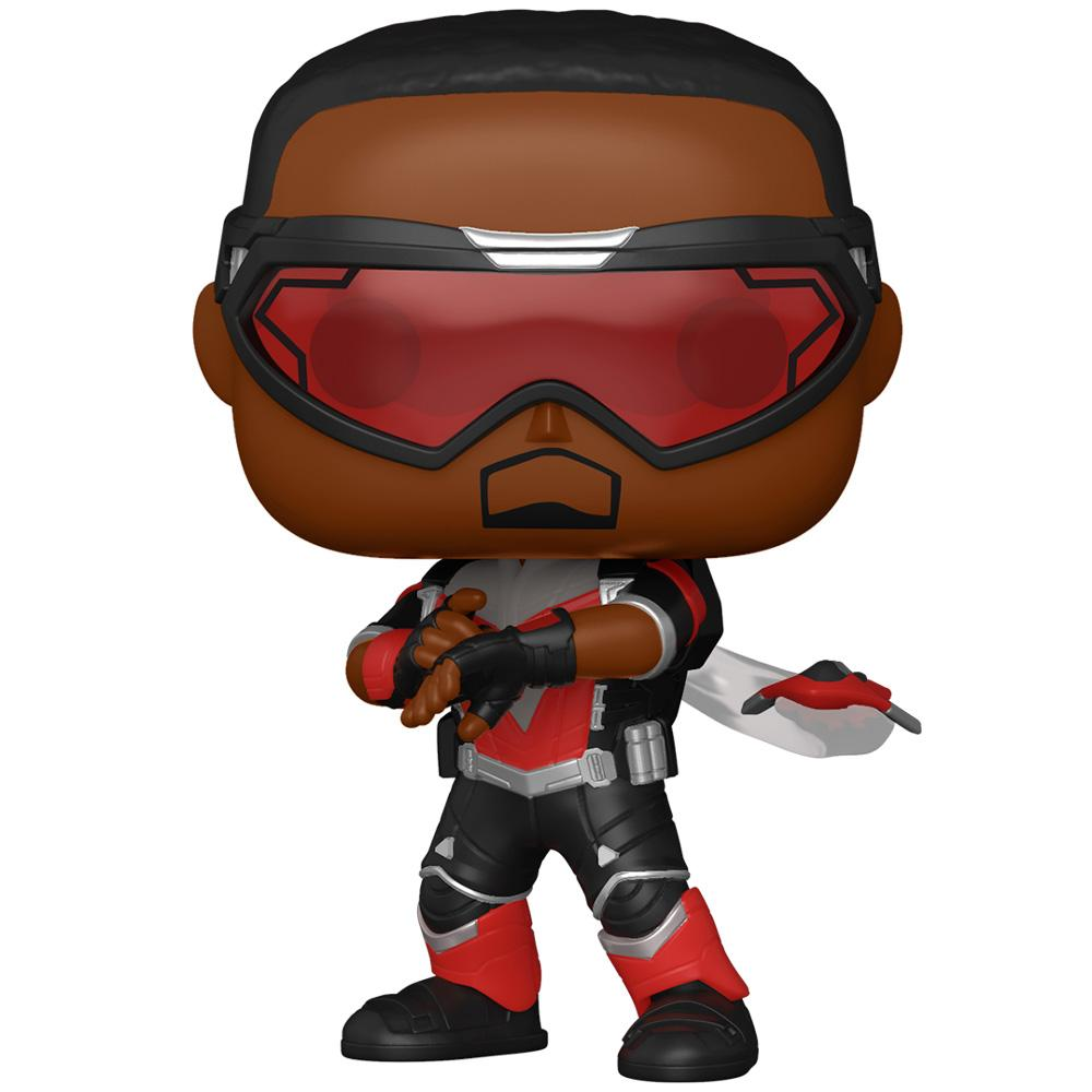 Funko - PRE-ORDER: Funko POP Marvel: TFAWS - Falcon With Marvel Sleeve