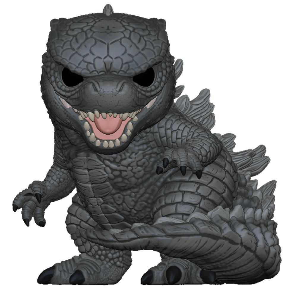 "Funko - PRE-ORDER: Funko POP Movies: Godzilla Vs Kong - 10"" Godzilla With PPJoe Pop Protector"