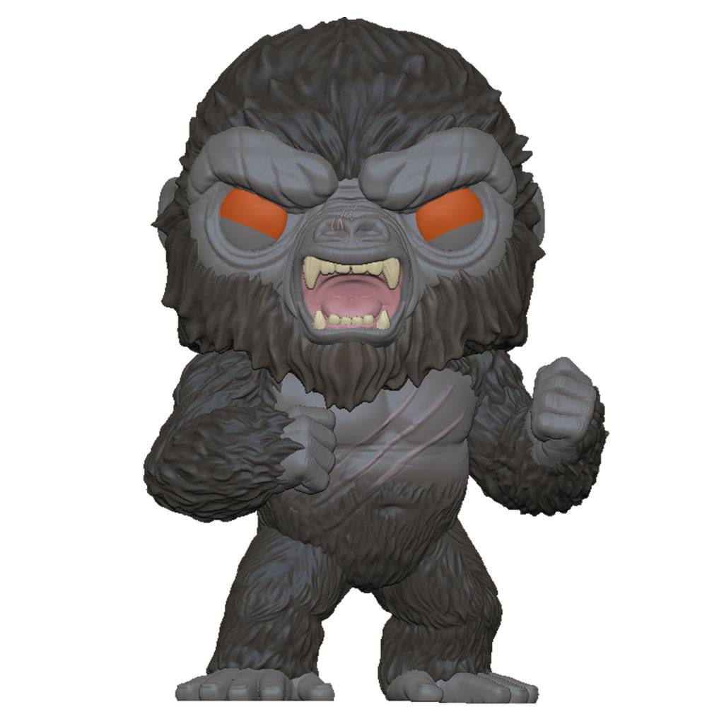 Funko - PRE-ORDER: Funko POP Movies: Godzilla Vs Kong - Battle-Ready Kong With Blood Splattered Sleeve