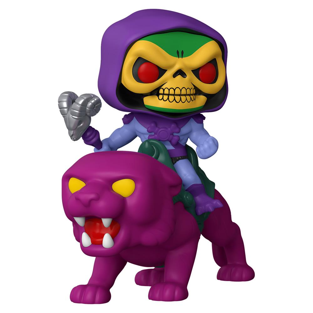 Funko - PRE-ORDER: Funko POP Ride: MOTU - Skeletor On Panthor With PPJoe Protector