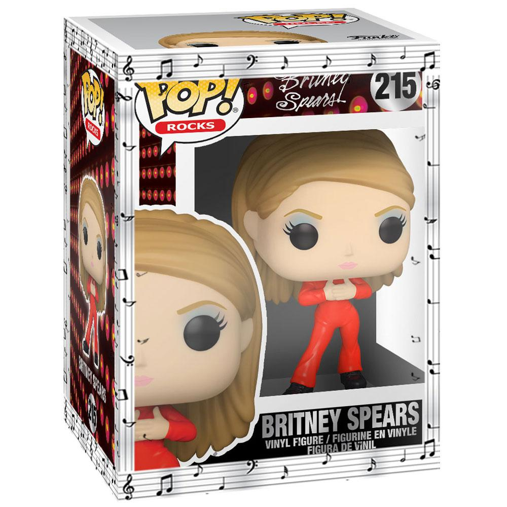 Funko - PRE-ORDER: Funko POP Rocks: Britney Spears - Catsuit Britney With Musical Sleeve