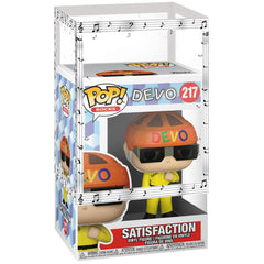 Funko - PRE-ORDER: Funko POP Rocks: Devo - Satisfaction (Yellow Suit) With Musical Sleeve