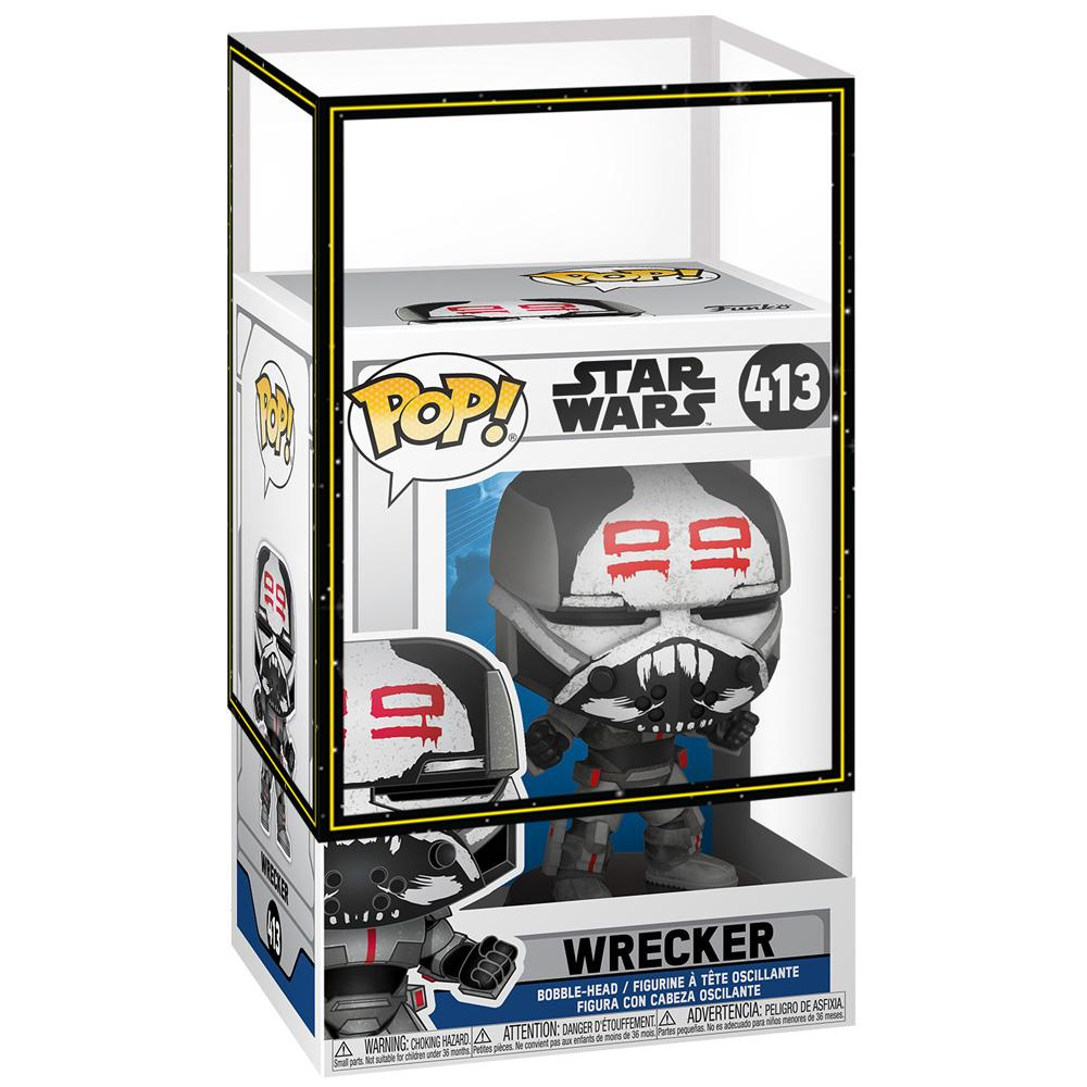 Funko - PRE-ORDER: Funko POP Star Wars: Clone Wars - Wrecker With PPJoe SW Sleeve