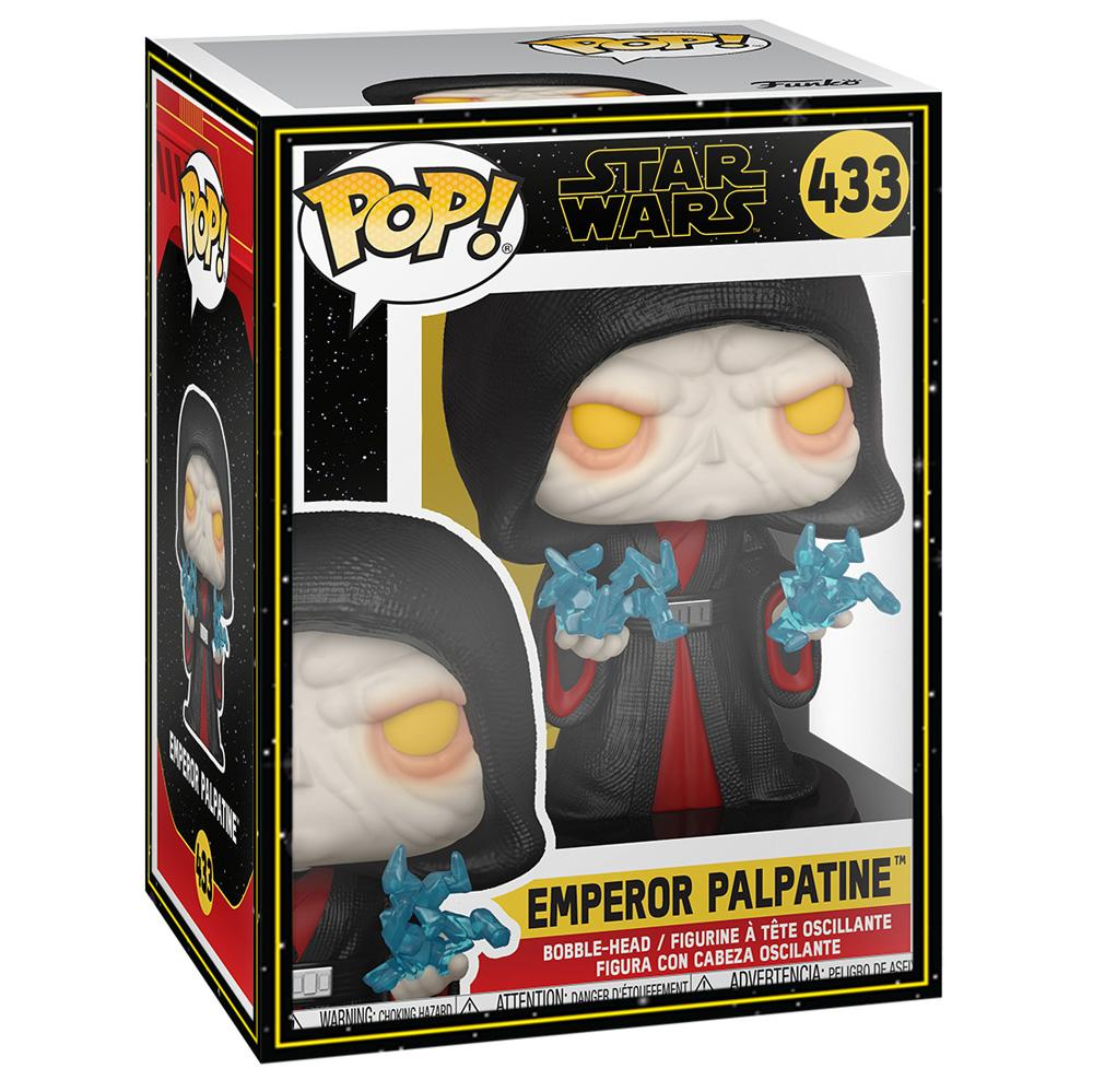 Funko - PRE-ORDER: Funko POP Star Wars: Revitalized Palpatine With Star Wars Sleeve