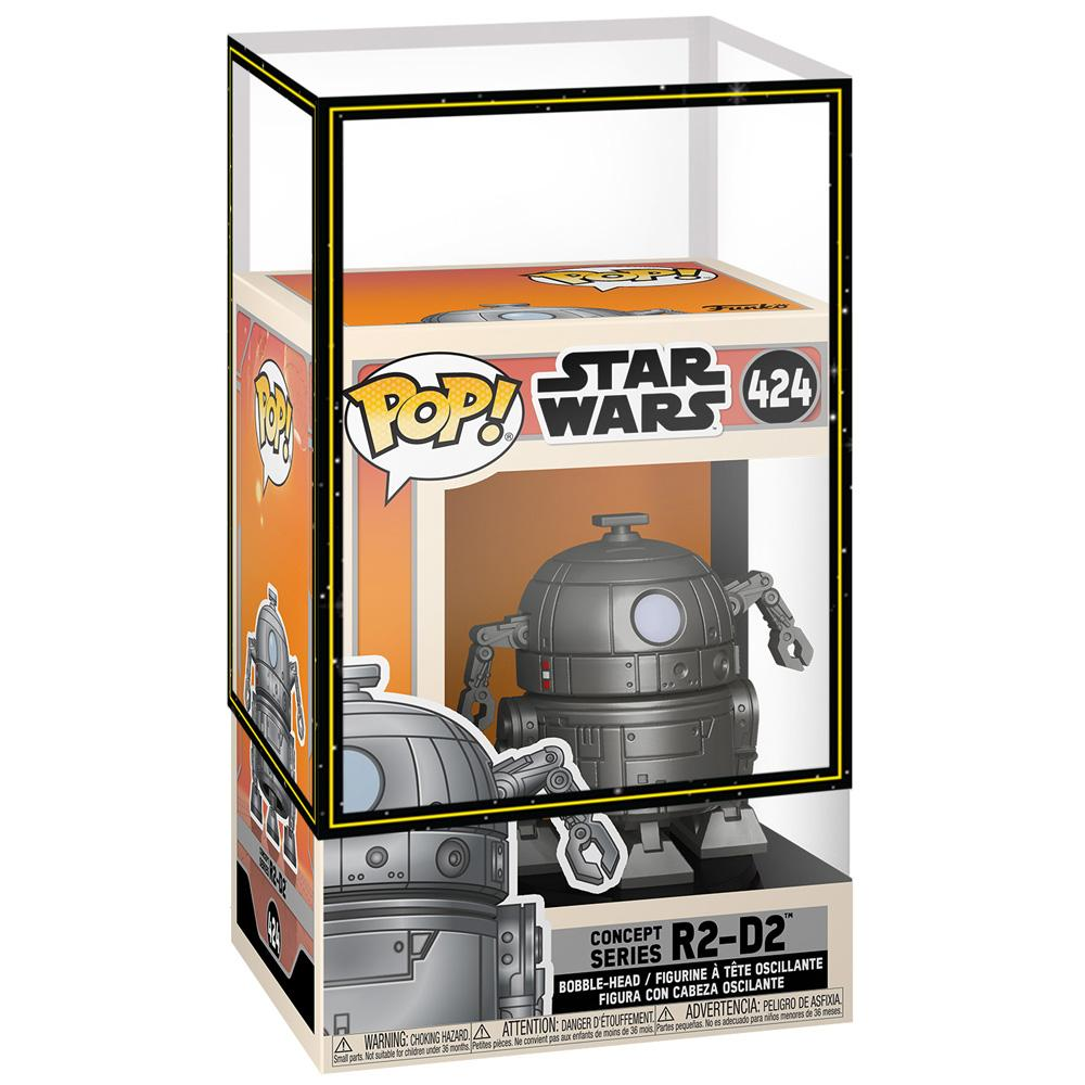 Funko - PRE-ORDER: Funko POP Star Wars: SW Concept - R2-D2 With SW Sleeve