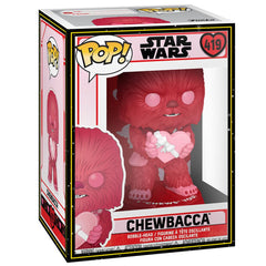 Funko - PRE-ORDER: Funko POP Star Wars: Valentines - Cupid Chewbacca With PPJoe Sleeve And Protector