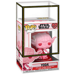 Funko - PRE-ORDER: Funko POP Star Wars: Valentines - Yoda With Heart With PPJoe Sleeve And Protector