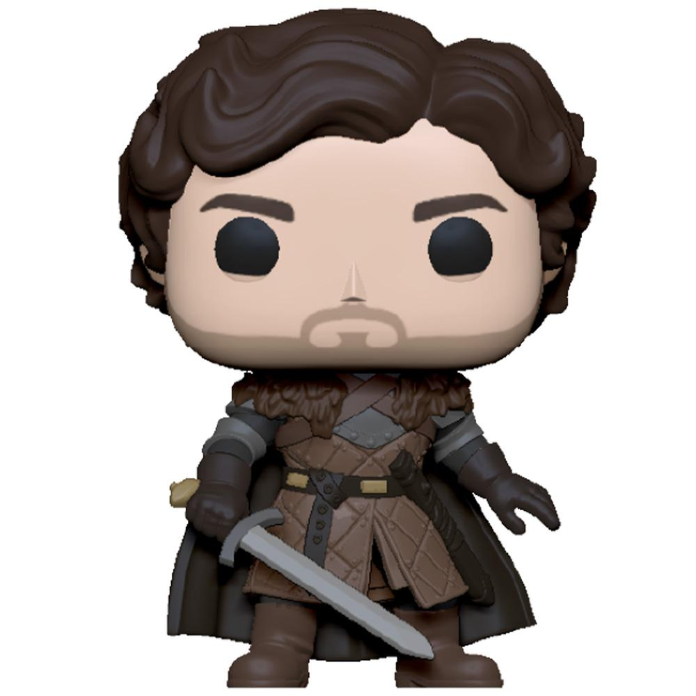 Funko - PRE-ORDER: Funko POP TV: Game Of Thrones - Robb Stark With Sword With Fantasy Sleeve