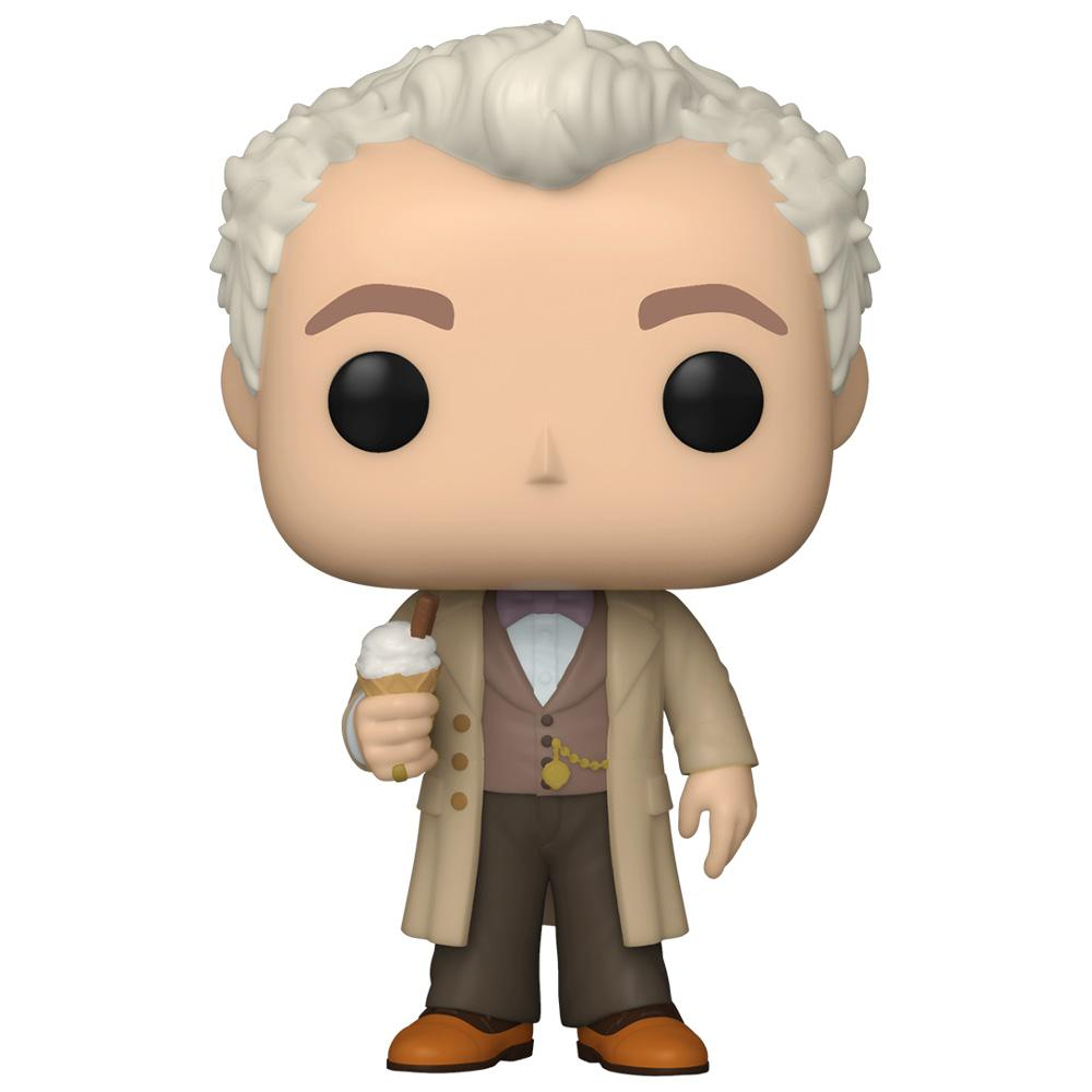 Funko - PRE-ORDER: Funko POP TV: Good Omens - Aziraphale With Chance Of Chase