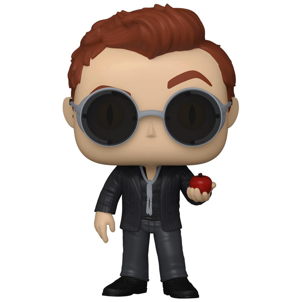 Funko - PRE-ORDER: Funko POP TV: Good Omens - Crowley With Chance Of Chase