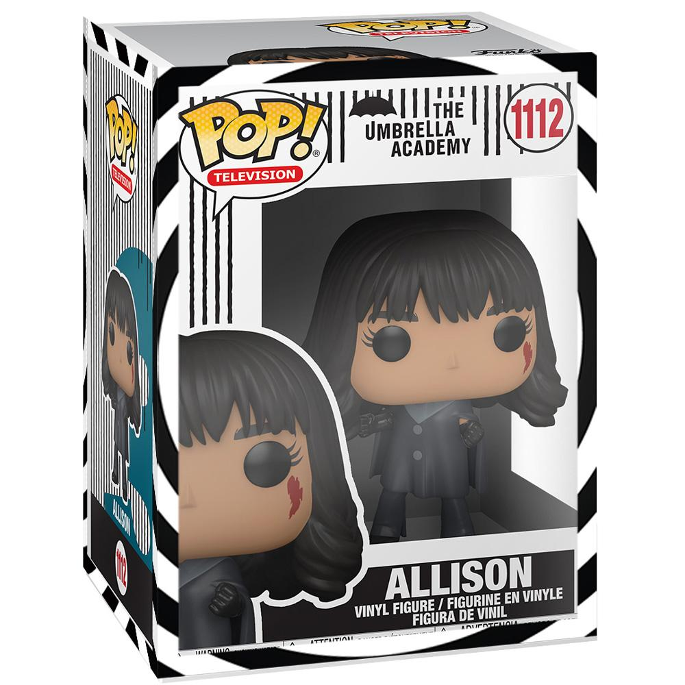 Funko - PRE-ORDER: Funko POP TV: Umbrella Academy - Allison With Themed Sleeve