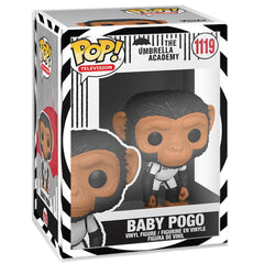 Funko - PRE-ORDER: Funko POP TV: Umbrella Academy - Baby Pogo With Themed Sleeve