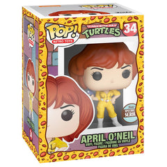 Funko - PRE-ORDER: Funko POP Vinyl: TMNT - April O'Neil (Speciality Series) With PPJoe Pizza Sleeve