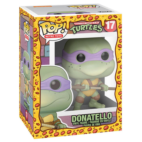 Funko - PRE-ORDER: Funko POP Vinyl: TMNT - Donatello With PPJoe Pizza Sleeve