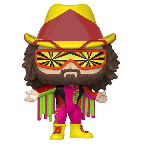 Funko - PRE-ORDER: Funko POP WWE: Macho Man Randy Savage With PPJoe WWE Sleeve