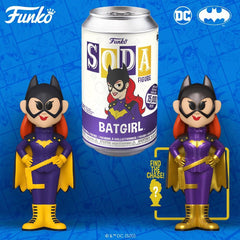 Funko - PRE-ORDER: Funko Vinyl SODA: DC - Batgirl With Chance Of Metallic Chase
