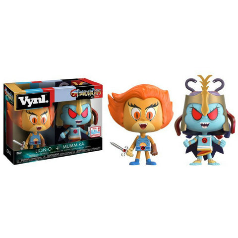 Funko - VYNL ThunderCats 2-Pack Lion-O & Mumm-Ra 2 2017 Fall Convention Exclusive