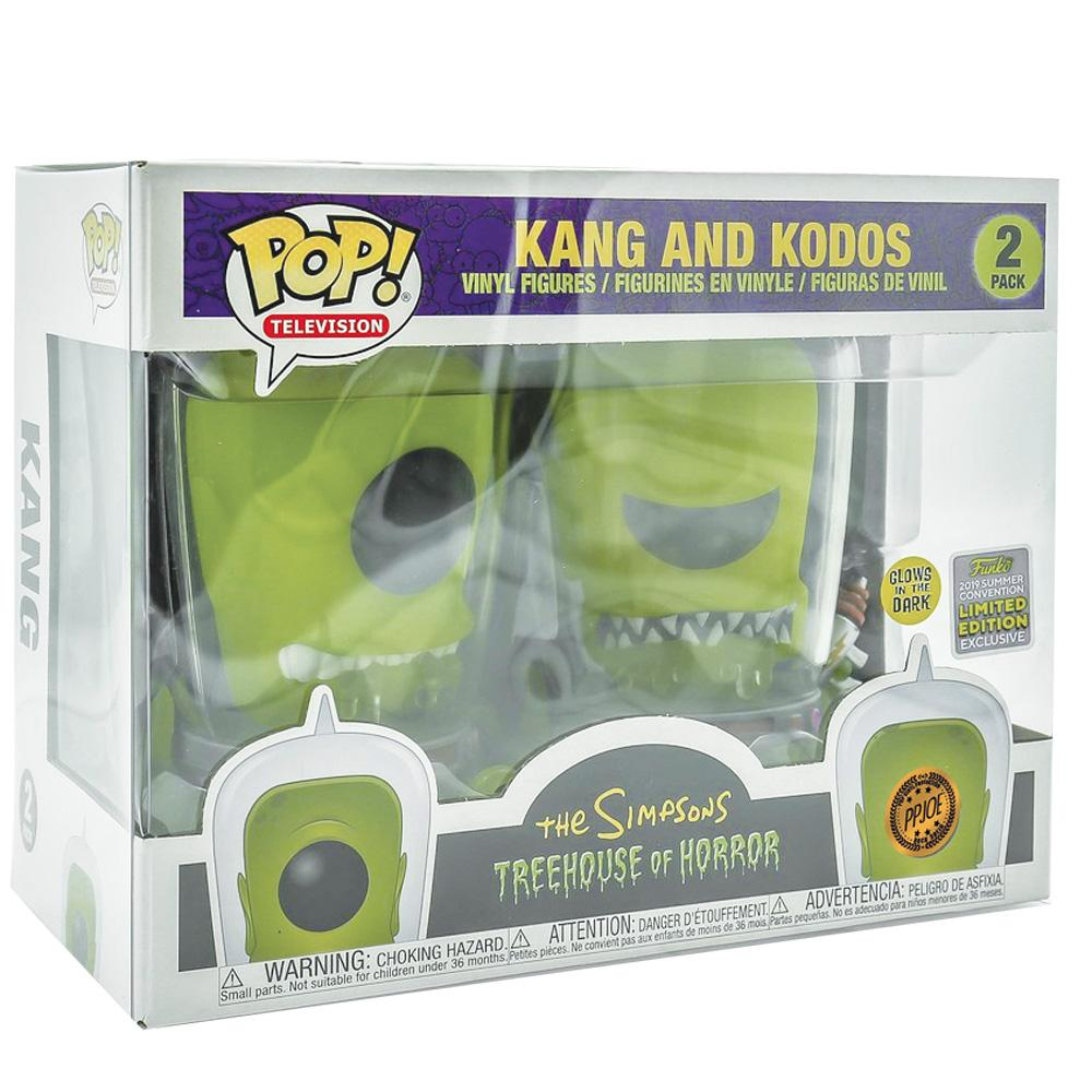 Pop Vinyl Protector - PPJoe 2 Pack (Double) Pop Protector For Kang & Kodos, Rock Solid Funko Vinyl Protection
