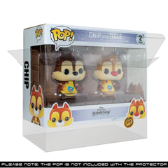 Pop Vinyl Protector - PPJoe 2 Pack (Double) Pop Protector, New 0.40mm Thickness, Rock Solid Funko Vinyl Protection