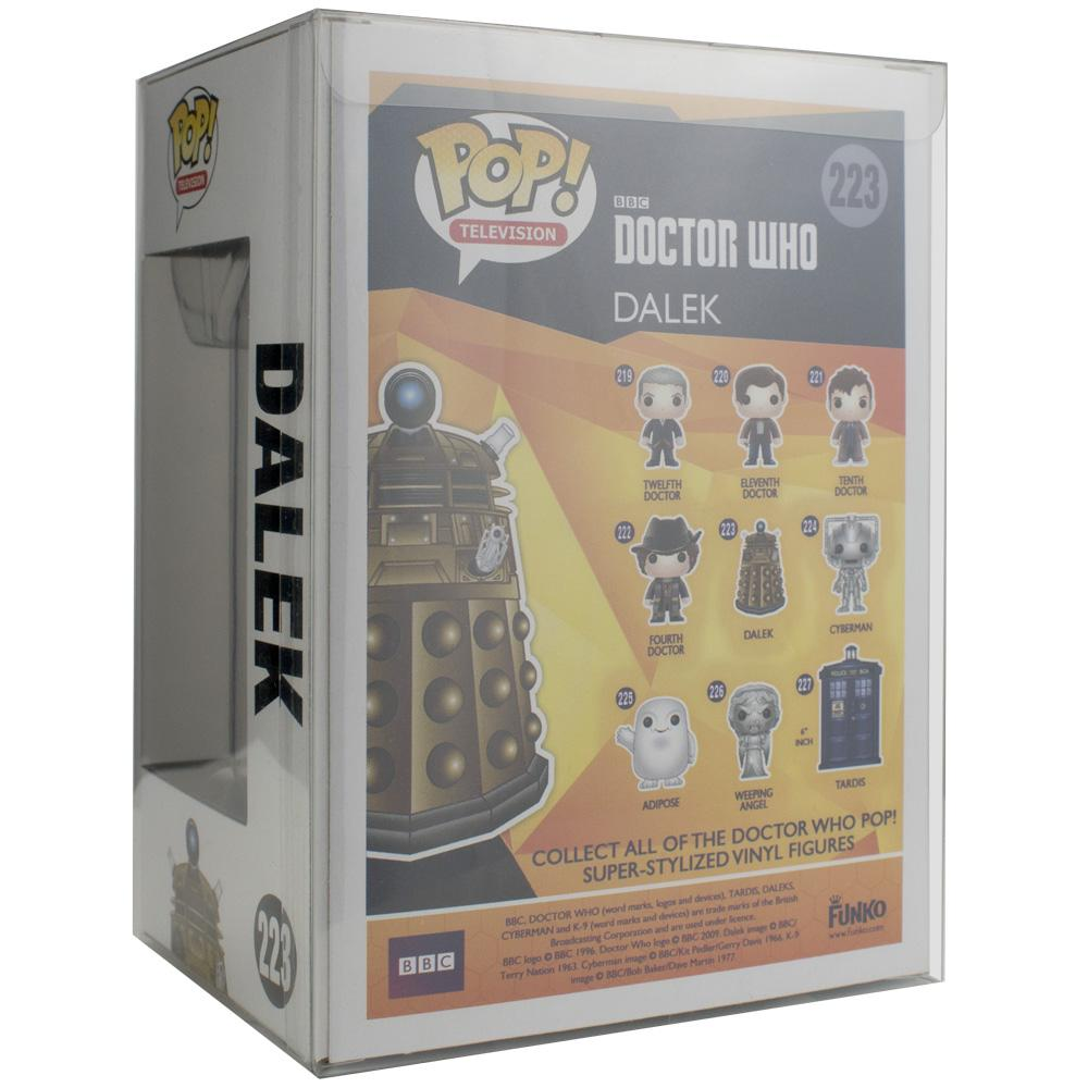 "Pop Vinyl Protector - PPJoe 4"" Dalek Pop Protector, Funko Vinyl Protection [Single]"