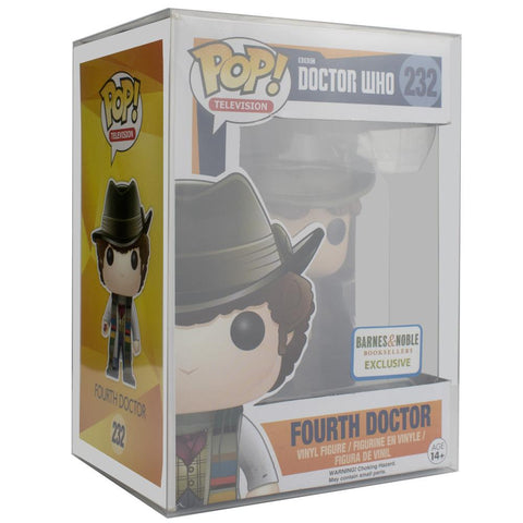 "Pop Vinyl Protector - PPJoe 4"" Dr Who Pop Protector, Funko Vinyl Protection [Single]"