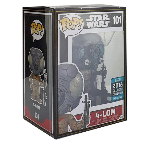 "Pop Vinyl Protector - PPJoe 4"" Star Wars Sleeve, Funko Vinyl Protection [Single]"