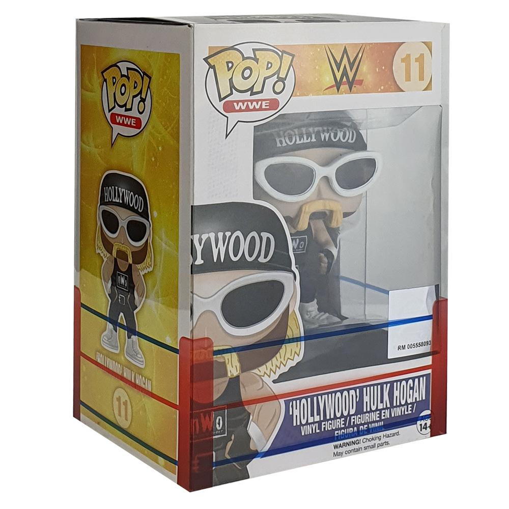 "Pop Vinyl Protector - PPJoe 4"" WWE Sleeve, Funko Vinyl Protection [Single]"