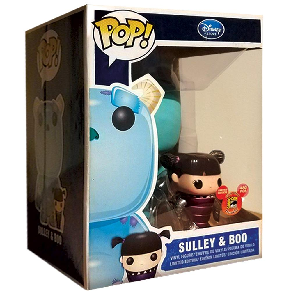 "Pop Vinyl Protector - PPJoe 9"" Sulley And Boo Pop Protector, Rock Solid Funko Vinyl Protection"