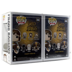 Pop Vinyl Protector - PPJoe Chaser Pack (fits 2 Single Pops) Pop Protector, New 0.40mm Thickness, Rock Solid Funko Vinyl Protection
