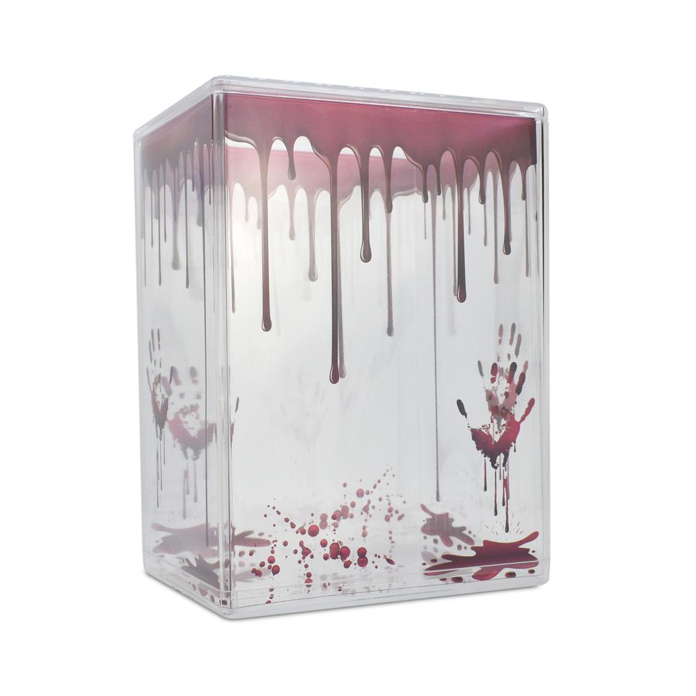 Pop Vinyl Protector - PPJoe Clear 2mm Hard Stack With Blood Drip Sleeve