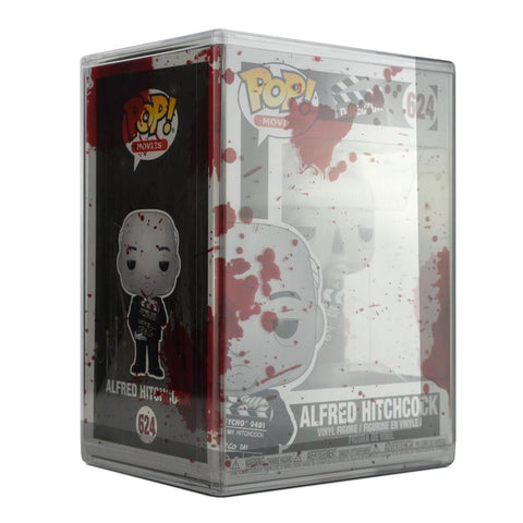 Pop Vinyl Protector - PPJoe Clear 2mm Hard Stack With Blood Splattered Sleeve