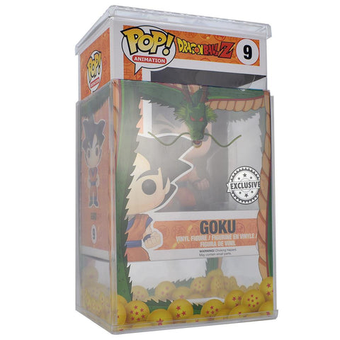 Pop Vinyl Protector - PPJoe Clear 2mm Hard Stack With DBZ Sleeve
