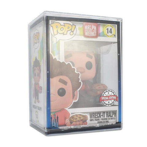 Pop Vinyl Protector - PPJoe Clear 2mm Hard Stack With Disney Sleeve