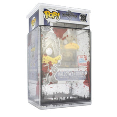 Pop Vinyl Protector - PPJoe Clear 2mm Hard Stack With Halloween Sleeve