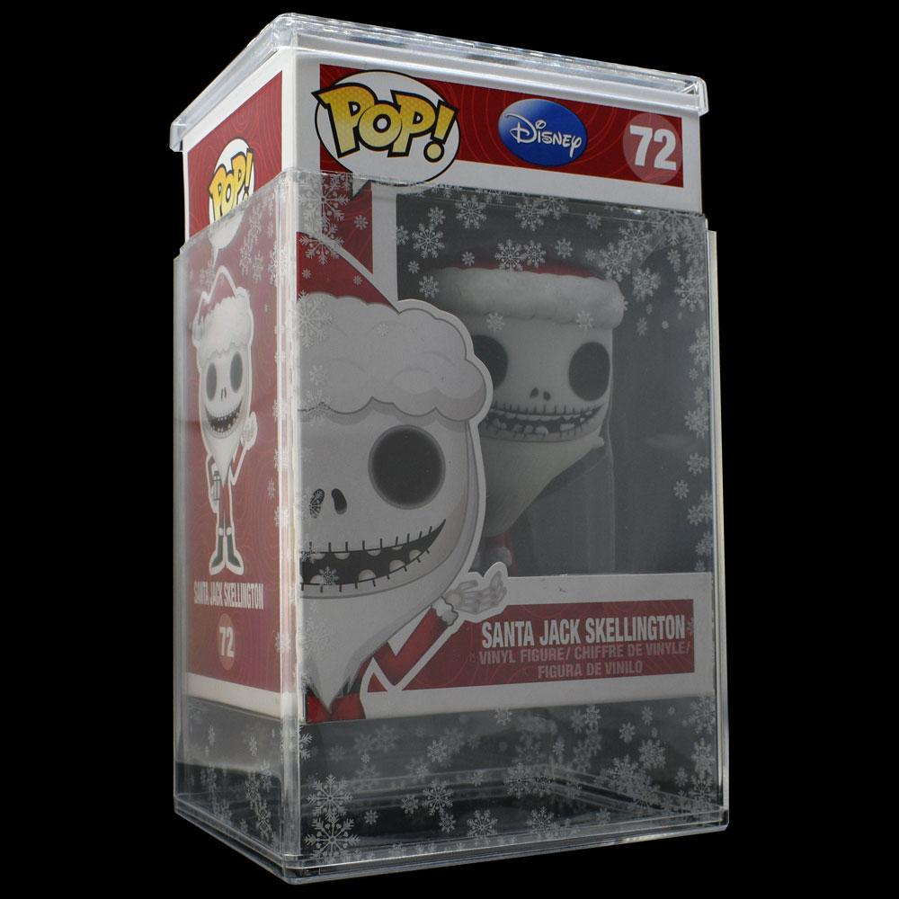 Pop Vinyl Protector - PPJoe Clear 2mm Hard Stack With Snow Flake Sleeve