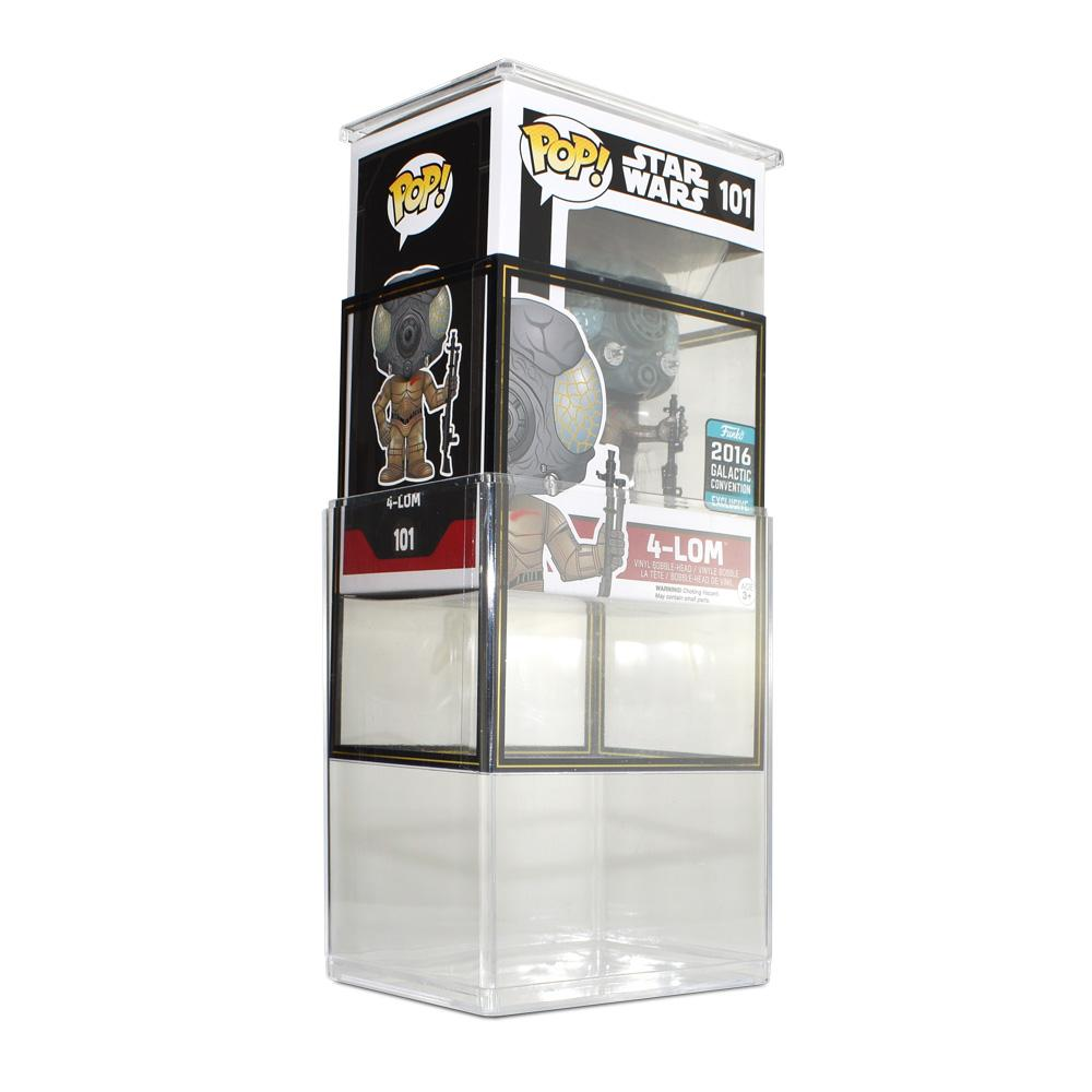 Pop Vinyl Protector - PPJoe Clear 2mm Hard Stack With Star Wars Sleeve