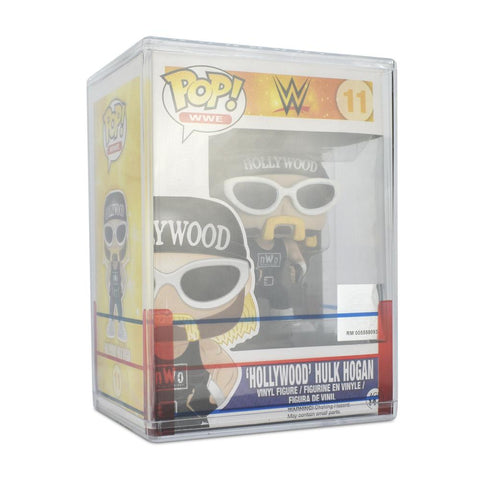 Pop Vinyl Protector - PPJoe Clear 2mm Hard Stack With WWE Sleeve