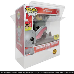 Pop Vinyl Protector - PPJoe Dumbo Pop Protector, Rock Solid Funko Vinyl Protection