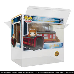 Pop Vinyl Protector - PPJoe Harry Potter Train Pop Protector, Rock Solid Funko Vinyl Protection