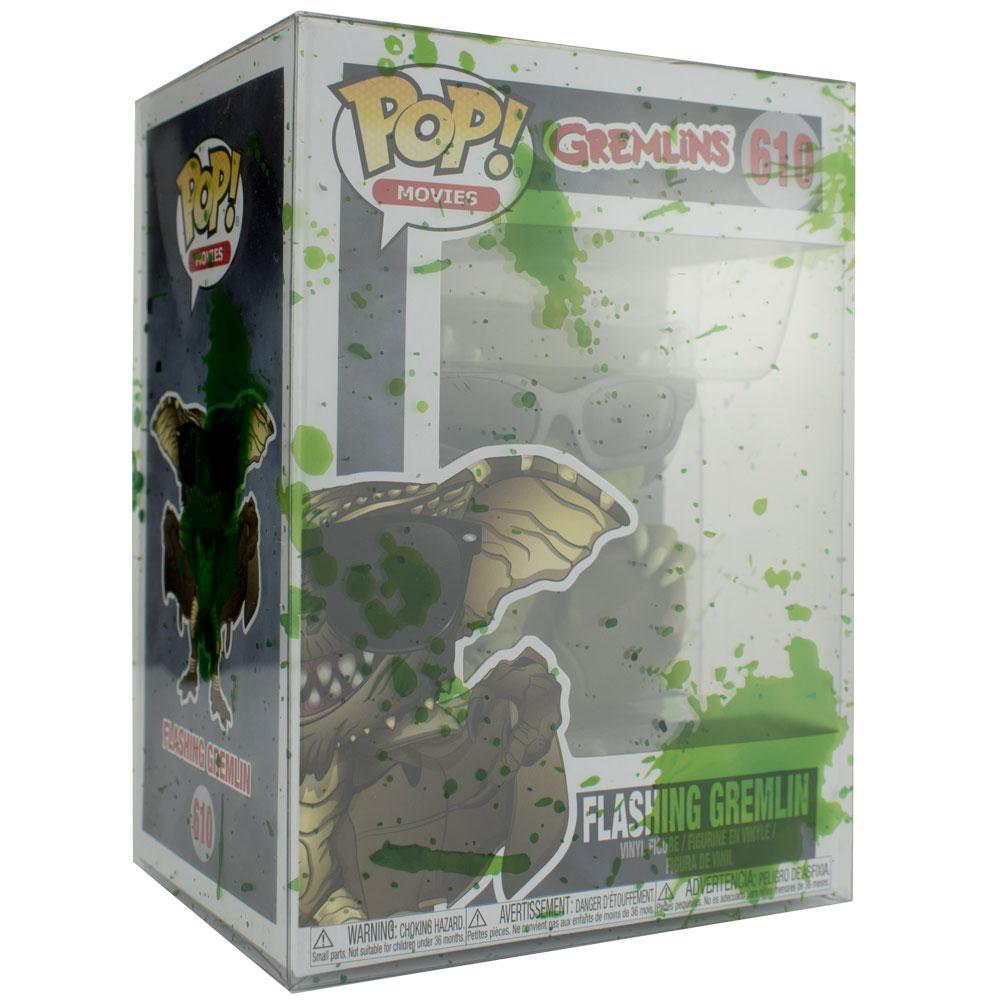 "Pop Vinyl Protector - PPJoe Pop Protectors 4"" Alien Blood Splattered, 0.45mm Thickness, Funko Vinyl Protection [10 Pack]"